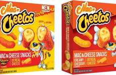 Frozen Cheese Macaroni Snacks