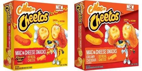 Frozen Cheese Macaroni Snacks