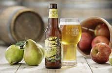 Refreshing Blended Fruit Ciders - The Angry Orchard Pear Cider Contains a Blend of Apples and Pears