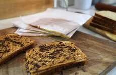 Nut Butter Sandwich Slices - This Food Network Recipe Shows How to Make a Frozen Peanut Butter Slice