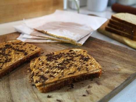 Nut Butter Sandwich Slices