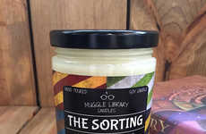 Magical Color-Changing Candles - Muggle Library Candles Created a Fun Soy Wax Harry Potter Candle