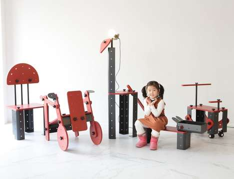 Customizable Toy Furniture Units - The 'Toniture' Project Creates Play Furniture for Young Ones