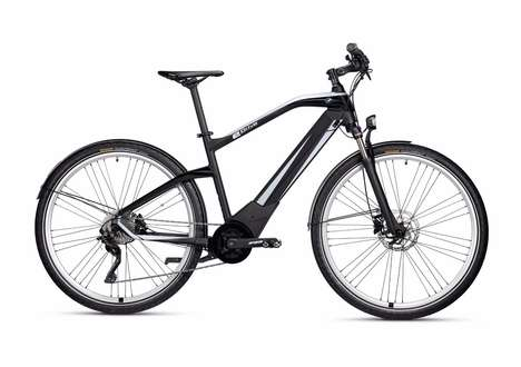 Vehicle Brand eBikes - The BMW Active Hybrid Bicycle Has a Sporty Yet Stylish Design