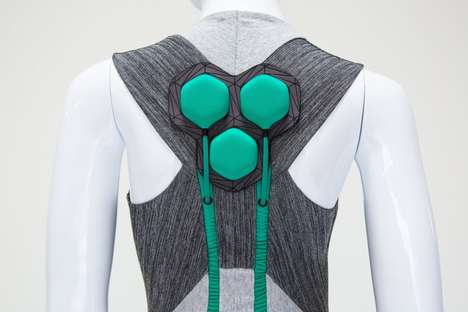 Mobility-Improving Clothing Concepts - Yves Béhar's 'Aura Power' Clothing Relieves Muscle Strain