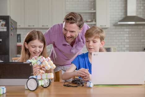 Wireless Programming Toys - The Cubroid Coding Blocks Teach Through Building and Play