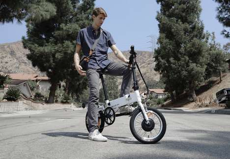 Highly Portable Folding eBikes - The 'G-Bike' is the World's First Carry-on eBike