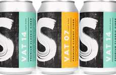 Canned Decreased Alcohol Ciders - Sheppy's Cider Has Been Rebranded with a Lower ABV