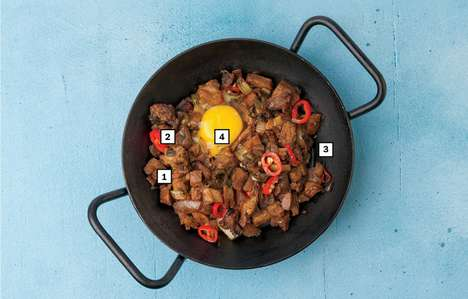Flavorful Filipino Pork Skillets - Purple Patch's 'Sizzling Sisig' is a Traditional Filipino Dish