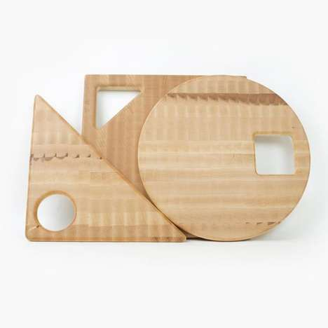 Geometric Kitchen Cutting Boards