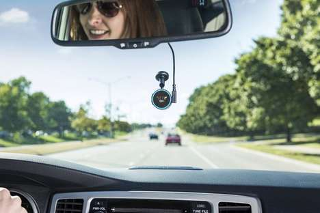 Voice Assistant Vehicle Navigators - The Garmin 'Speak' Brings Amazon Alexa into Your Vehicle