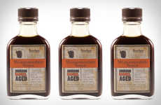 Vegetarian Bourbon Barrel Sauces - The Bourbon Barrel Aged Worcestershire Sauce is All-Natural