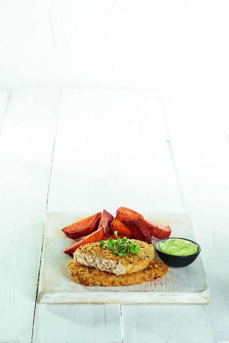 Flax-Based Vegan Schnitzel