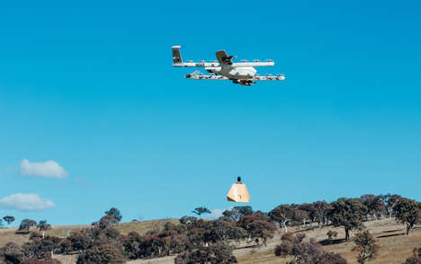 Burrito-Delivering Drones - The 'Project Wing' Team Delivered Burritos Via Drones in Rural Australia