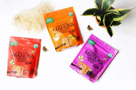 Manuka Honey Lollipops - Wedderspoon's Organic Honey Pops are Packed with Vitamin C