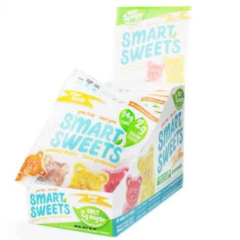 Fiber-Enriched Gummy Bears