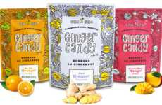 All-Natural Ginger Chews