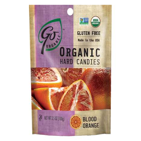 All-Organic Fruit Candies - GoOrganic Hard Candy Offers a Taste of Exotic Natural Fruit Flavors