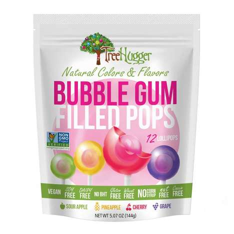 Free-From Gum Lollipops
