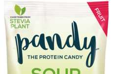 Protein-Rich Gummies - Pandy Protein Offers Nutritious Snacks in the Form of Candy