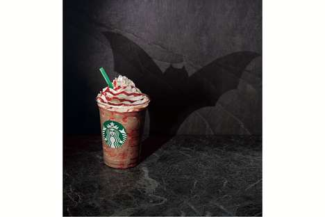Spooky Vampire Coffee Beverages