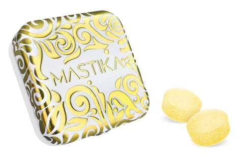 Resin-Flavored Chewing Gums - 'Mastika' is a Chewing Gum Flavored by the Mastic Tree Resin