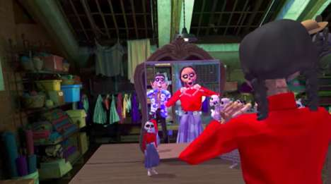 "Immersive Animation Experiences - Pixar's 'Coco VR' is Described as a ""Next-Level Social Experience"""