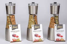 Meat-Integrated Spice Mills