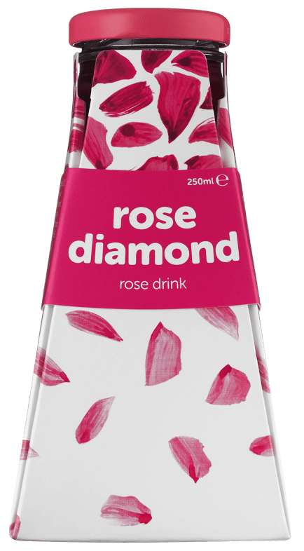 Beautifying Rose Beverages - 'Rose Diamond' is a Luxe Beauty Beverage Made with Bulgarian Rose Oil