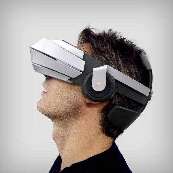 Streamlined All in One VR Headsets : 3rd Eye VR Headset