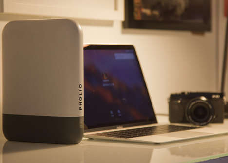 Visual Recognition Photo Drives - The 'Pholio' Lets You Search Your Photos and Videos Effortlessly