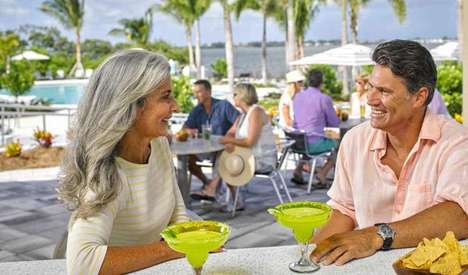 Retired Boomers are targeted by alcohol companies that brand for relaxation
