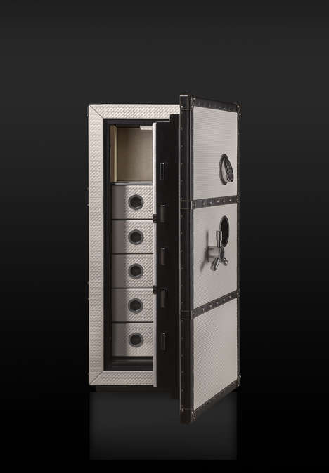 Luxury Travel Safes - Coleccion Alexandra's Traveler Range Can Be Customized to One's Needs