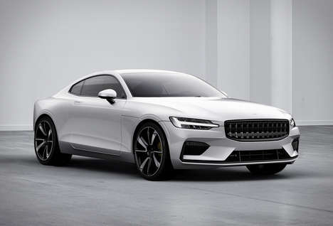 Hybrid Carbon Fiber Vehicles - The Polestar 1 Offers 93 Miles of Range Per Charge