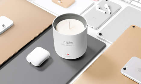 Technology-Inspired Candles