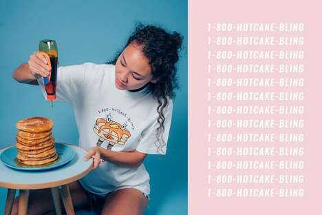 Cartoon Cuisine Graphic Tees - That Food Cray Has Released a Capsule Collection