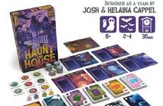 Spooky Ghost Hunter Games - The 'Haunt the House' Board Game Has Players Working to Scare Spooks