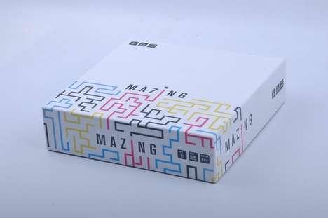 Strategic Maze Navigation Games