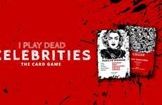 Morbid Celebrity Card Games - The 'I Play Dead Celebrities' Game is for Fans of Black Humor