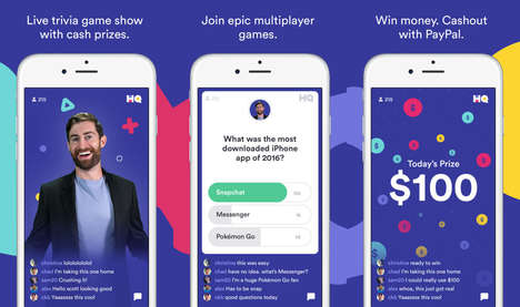 Live Game Show Apps - 'HQ' is a Live Trivia Game That Occurs Twice a Day