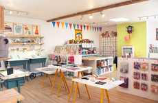 Hybrid Gift Shop Workspaces