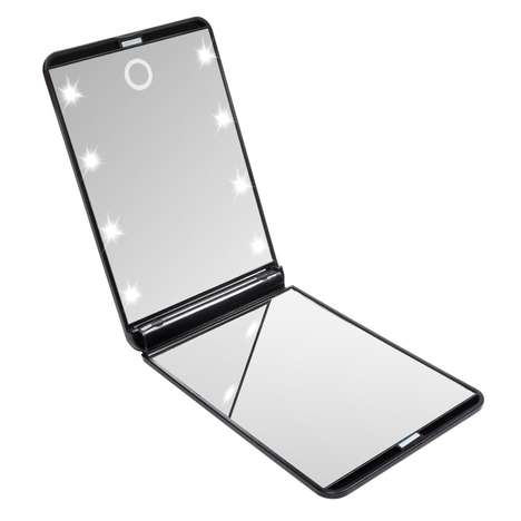 Compact LED Makeup Mirrors - The HotLife Mirror Generates the Perfect Light for Product Application