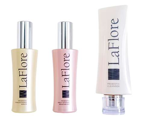Immune-Boosting Skincare Systems - LaFlore's Skincare Trio Strengthens One's Immunity and Flora