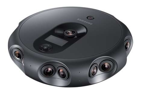 Livstreaming VR Cameras - The Samsung 360 Round Creates High-Quality 3D Content for Streaming