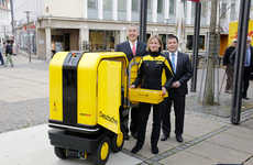 Delivery Staff-Supporting Robots - The Deutsche Post 'PostBOT' Supports Mail Deliverers as They Work