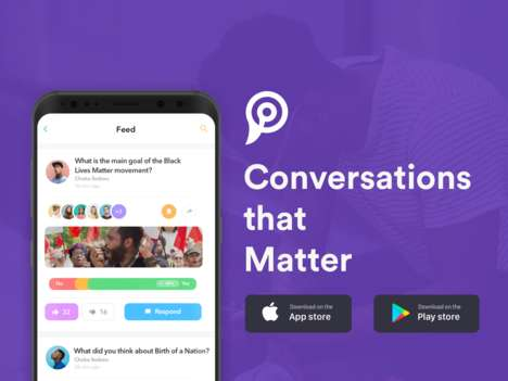Community Conversation Apps - The 'PINC' Online Topic Discussion Platform Eliminates Distractions