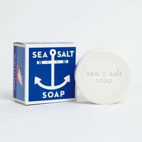 Exfoliating Salt Soaps