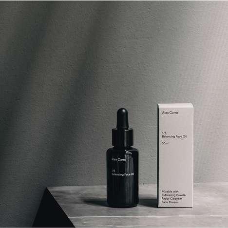 Masculine Facial Care Oils