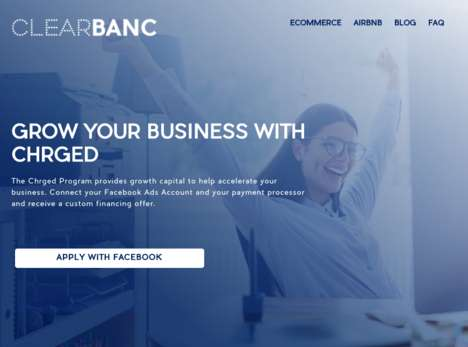 Social Business Accelerators - Facebook and Clearblanc's 'Chrged' Gives Businesses Access to Capital
