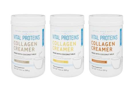 Collagen Coffee Creamers - Vital Proteins' 'Collagen Creamers' Offer Health and Beauty Benefits